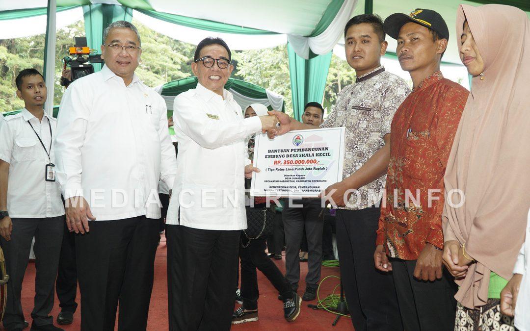 Mendes PDTT Kunjungi Kepahiang
