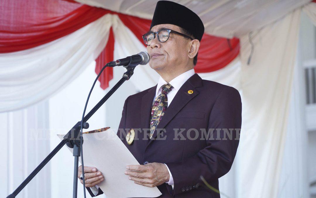 Bupati Pimpin Upacara Hardiknas 2019