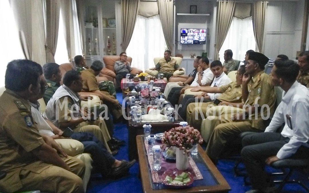 Kunjungan Liaison officer (LO) BNPB Ke Kabupaten Kepahiang