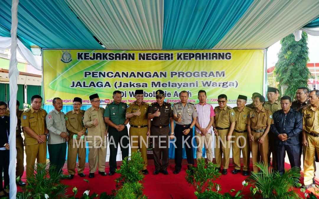 Launching Jalaga, Sekda : Langkah Inovatif Dalam Pelayanan Warga