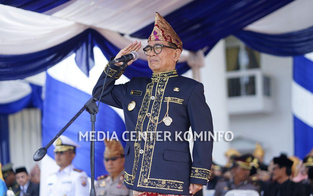 Paripurna dan Upacara HUT Ke-16 Kabupaten Kepahiang