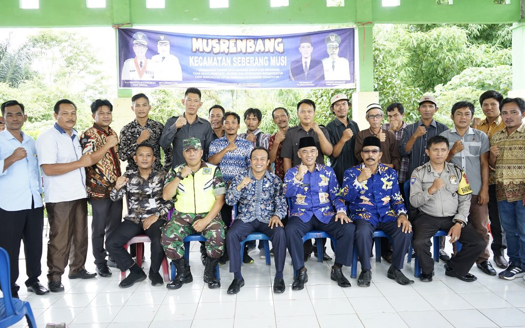 Sekda Buka Musrenbang Kecamatan Seberang Musi