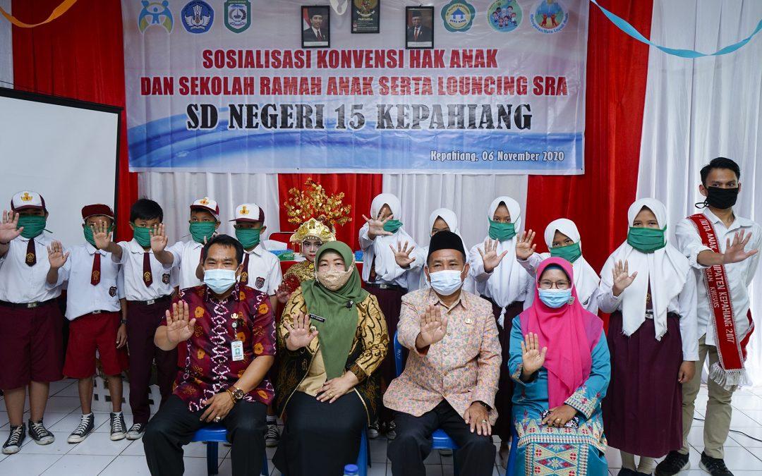 Plt. Bupati Melaunching Sekolah Ramah Anak (SRA)