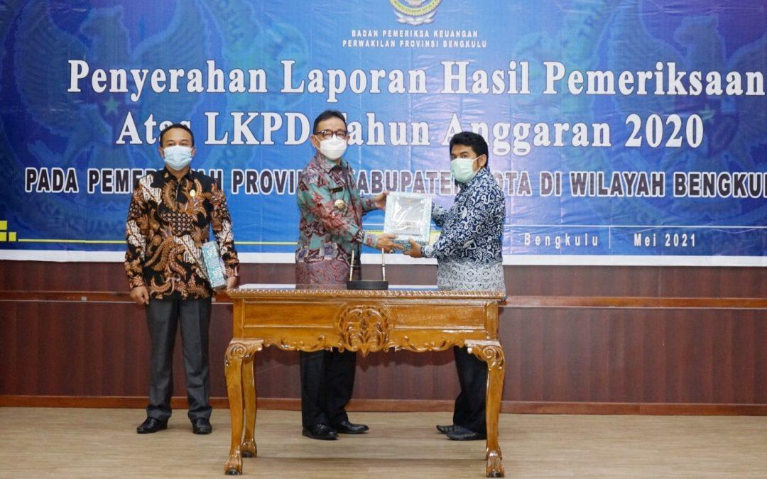 Lagi, Pemerintah Kabupaten Kepahiang Meraih Predikat Opini WTP dari BPK-RI Perwakilan Provinsi Bengkulu