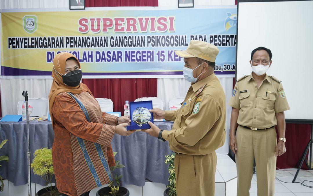 SDN 15 Kepahiang Gelar Supervisi Penanganan Gangguan Psikososial